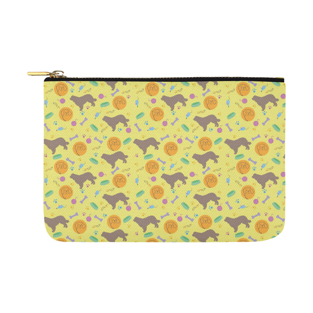 Newfoundland Pattern Carry-All Pouch 12.5x8.5 - TeeAmazing