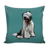 Old English Sheepdog Dog Pillow Cover - Old English Sheepdog Accessories - TeeAmazing - 3