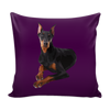 Doberman Pinscher Dog Pillow Cover - Doberman Pinscher Accessories - TeeAmazing - 4