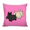 Scottish Terrier Dog Pillow Cover - Scottish Terrier Accessories - TeeAmazing - 4