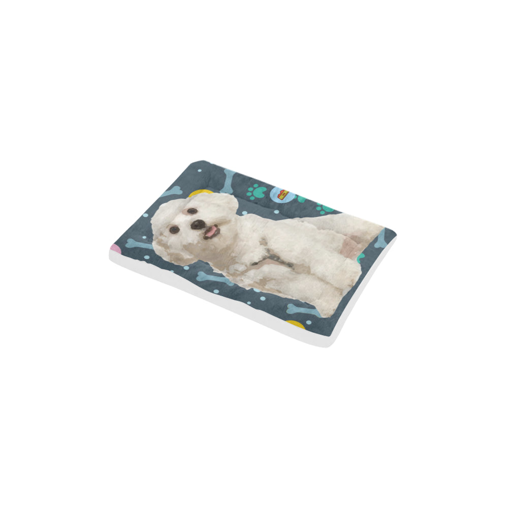 "Maltese Dog Beds 18""x12"" - TeeAmazing"