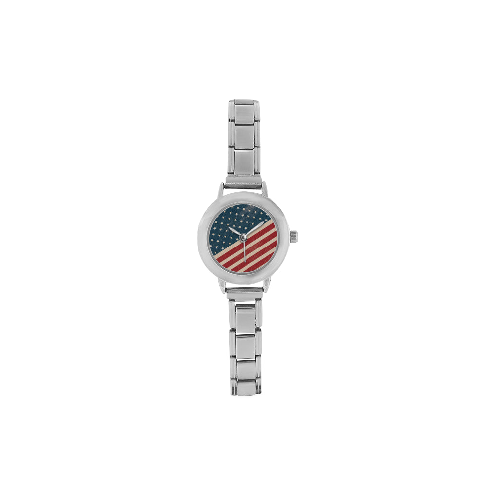 4th July V2 Women's Italian Charm Watch - TeeAmazing