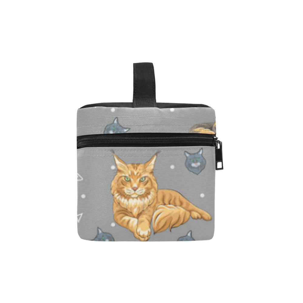 Maine Coon Cosmetic Bag/Large - TeeAmazing
