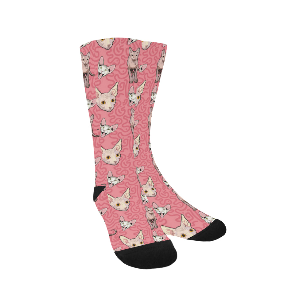 Sphynx Trouser Socks - TeeAmazing