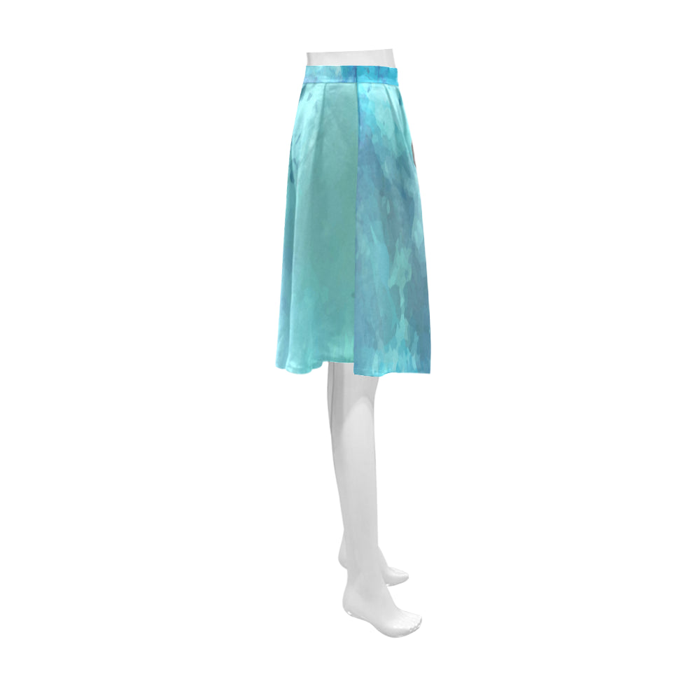 Boxer Water Colour Athena Women's Short Skirt - TeeAmazing