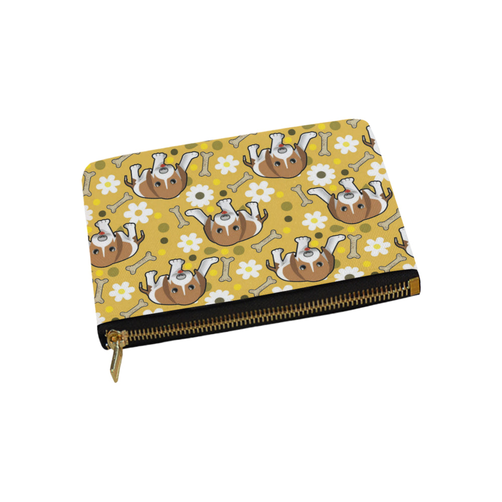 Beagle Carry-All Pouch 9.5x6 - TeeAmazing