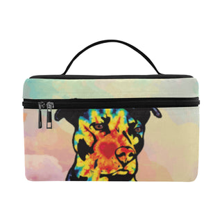 Pit Bull Pop Art No.1 Cosmetic Bag/Large - TeeAmazing