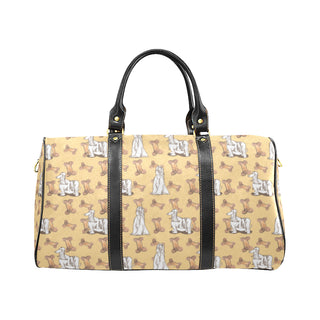 Afghan Hound Pattern New Waterproof Travel Bag/Small - TeeAmazing