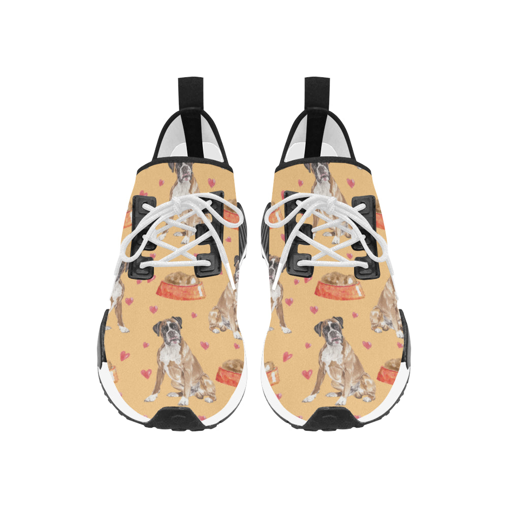 Boxer Water Colour Pattern No.1 Men's Draco Running Shoes - TeeAmazing