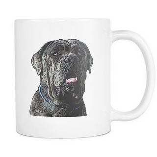 Neapolitan Mastiff Dog Mugs & Coffee Cups - Neapolitan Mastiff Coffee Mugs - TeeAmazing