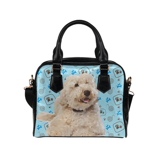 labradoodle Shoulder Handbag - TeeAmazing