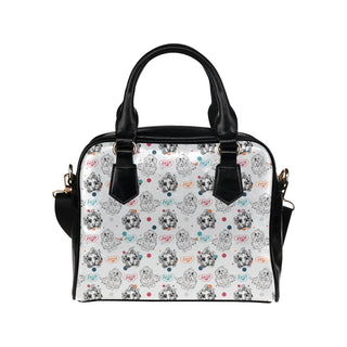Maltese Pattern Shoulder Handbag - TeeAmazing