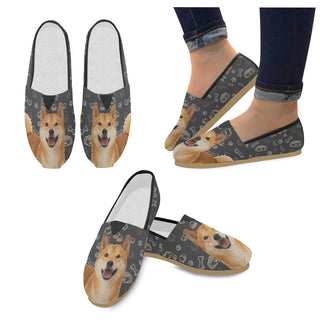 Shiba Inu Dog Women's Casual Shoes - TeeAmazing