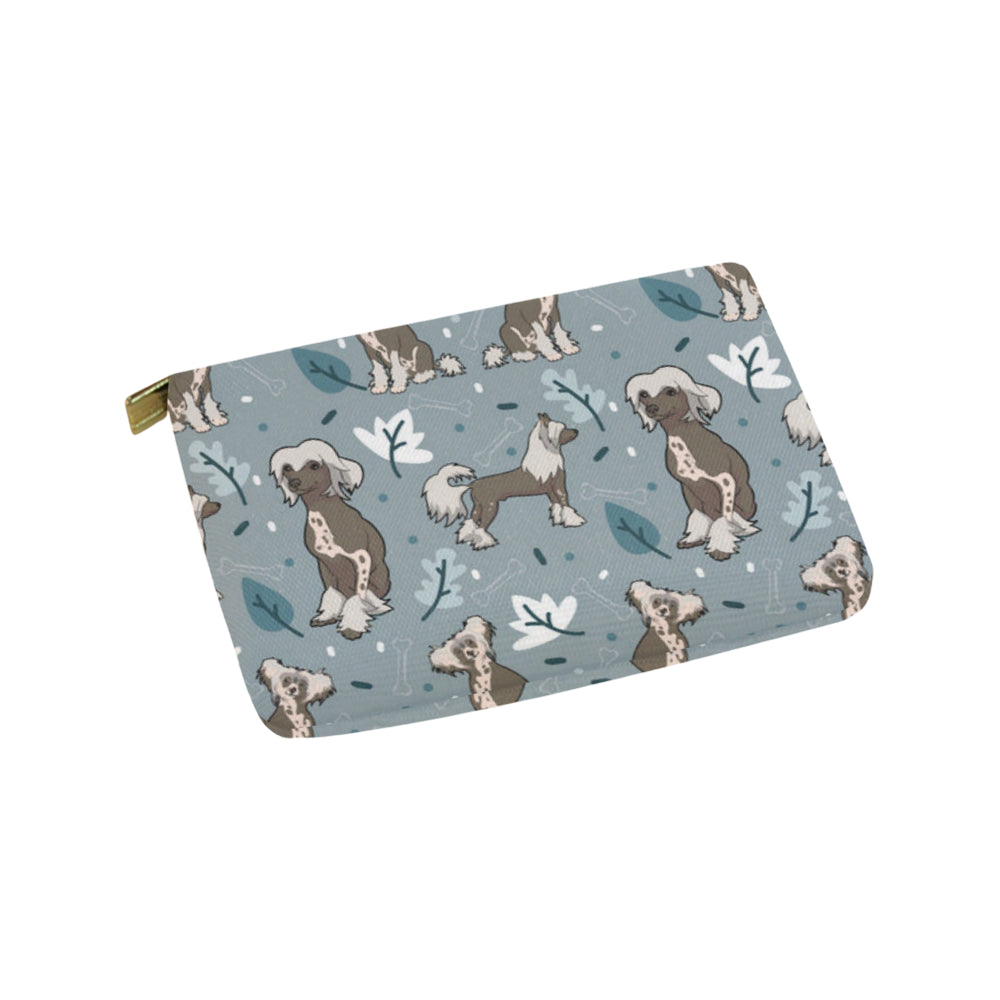 Chinese Crested Carry-All Pouch 9.5x6 - TeeAmazing