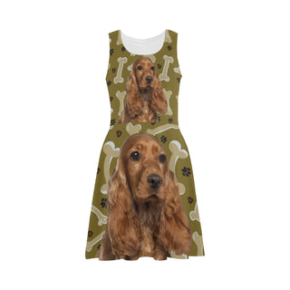Cocker Spaniel Dog Atalanta Sundress - TeeAmazing