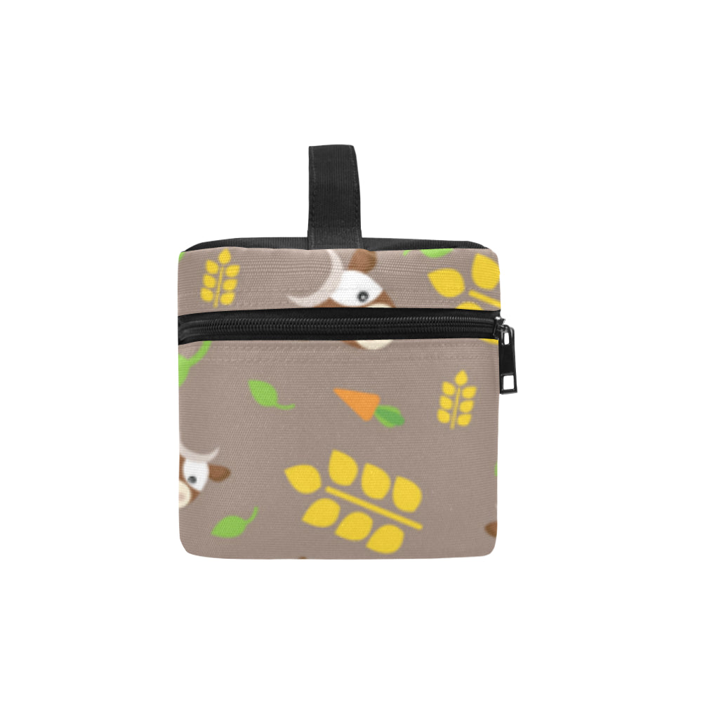 Cow Cosmetic Bag/Large - TeeAmazing