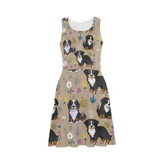 Bernese Mountain Flower Atalanta Sundress - TeeAmazing