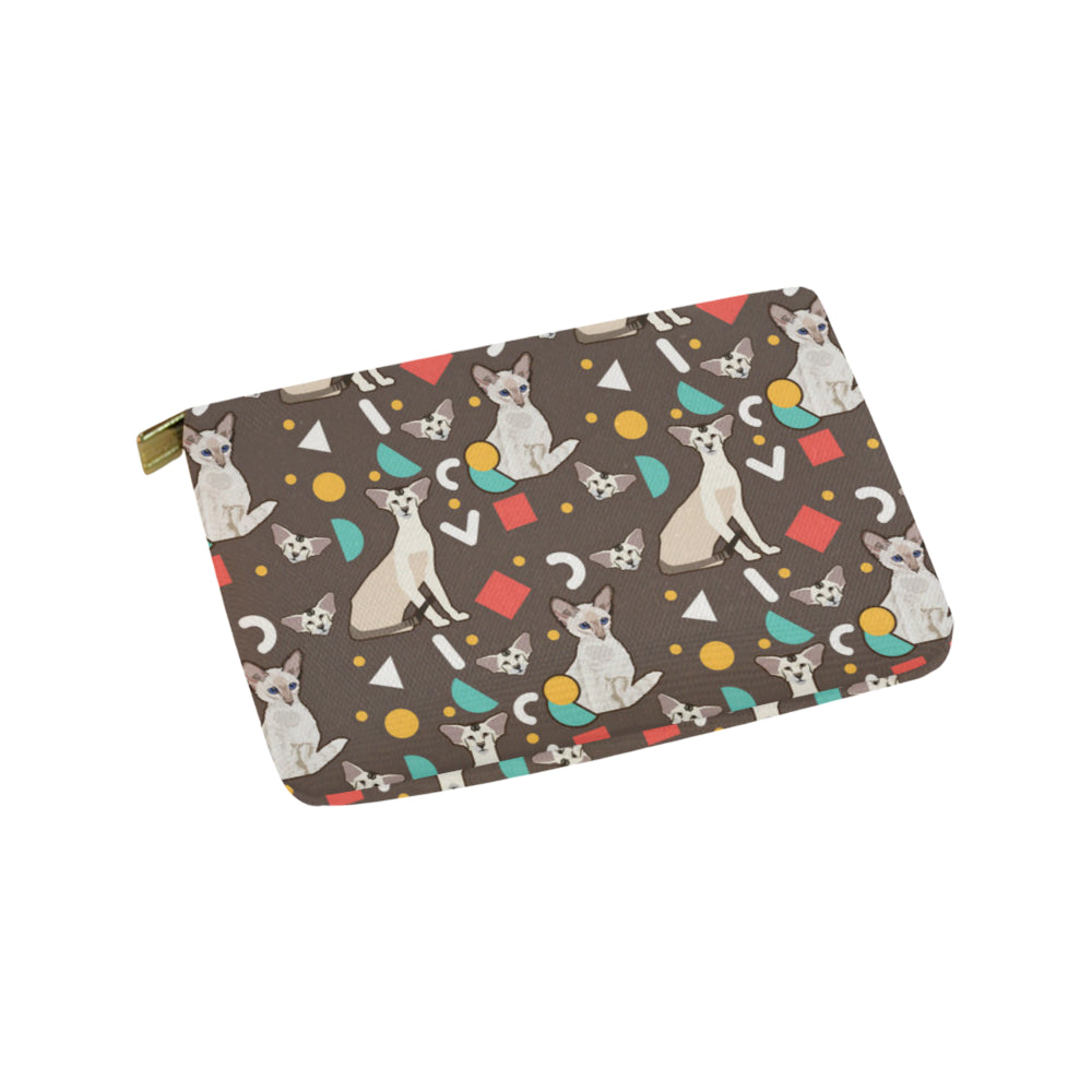 Oriental Shorthair Carry-All Pouch 9.5x6 - TeeAmazing