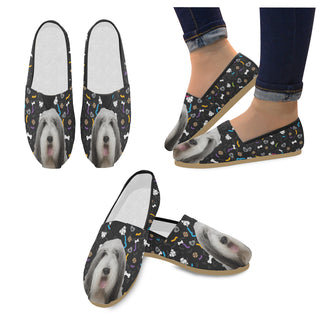 Bearded Collie Dog Women's Casual Shoes - TeeAmazing