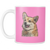 Pembroke Welsh Corgi Dog Mugs & Coffee Cups - Pembroke Welsh Corgi Coffee Mugs - TeeAmazing - 8