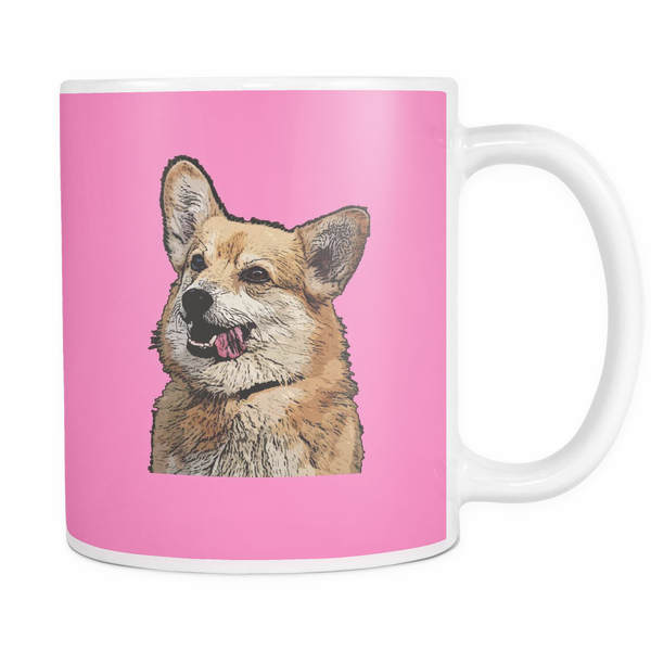 Pembroke Welsh Corgi Dog Mugs & Coffee Cups - Pembroke Welsh Corgi Coffee Mugs - TeeAmazing - 7