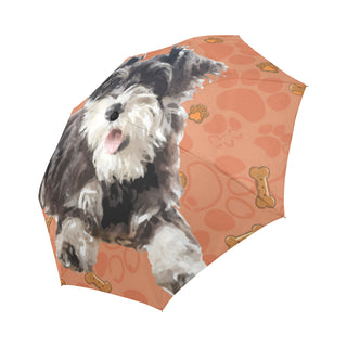 Miniature Schnauzer Auto-Foldable Umbrella - TeeAmazing