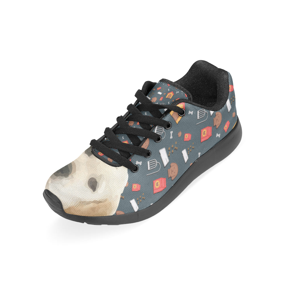 Goldador Dog Black Sneakers Size 13-15 for Men - TeeAmazing