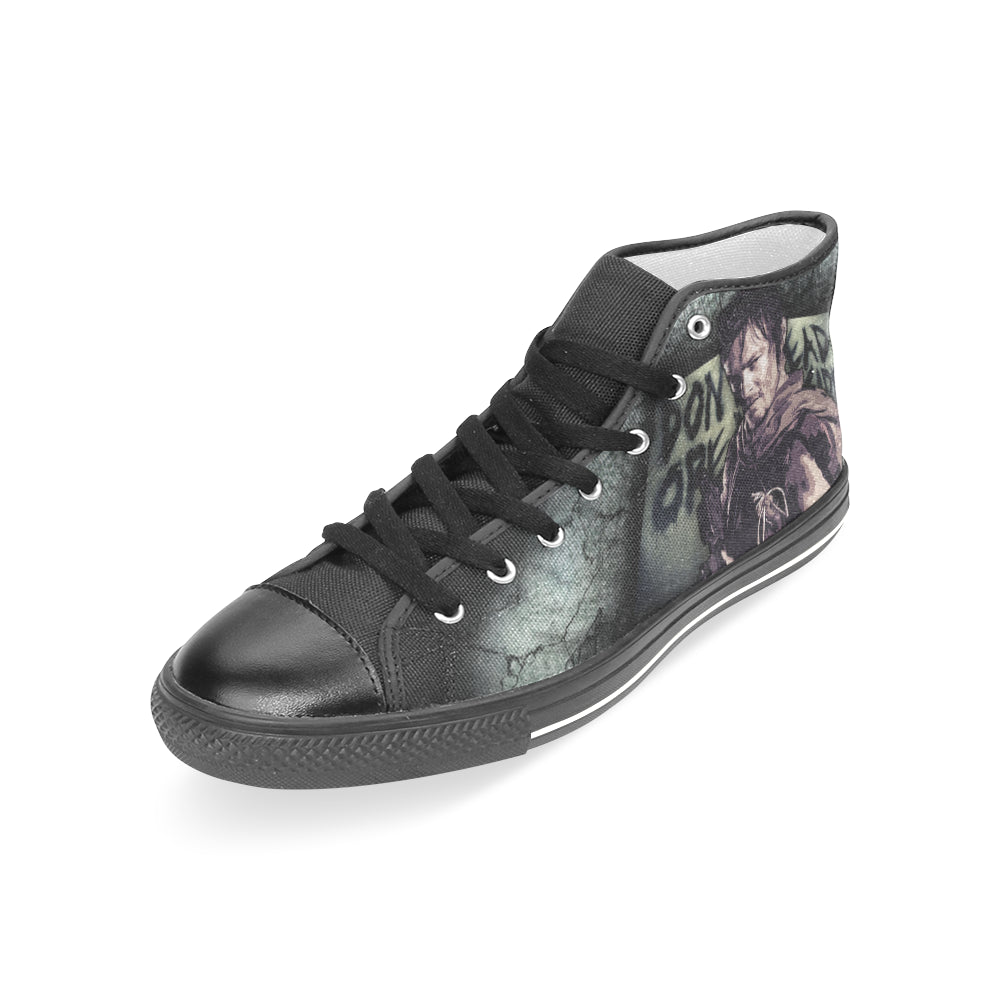 Walking dead converse shoes for sale -  Daryl Dixon Shoes Sneakers Custom The Walking Dead Canvas Shoes Teeamazing