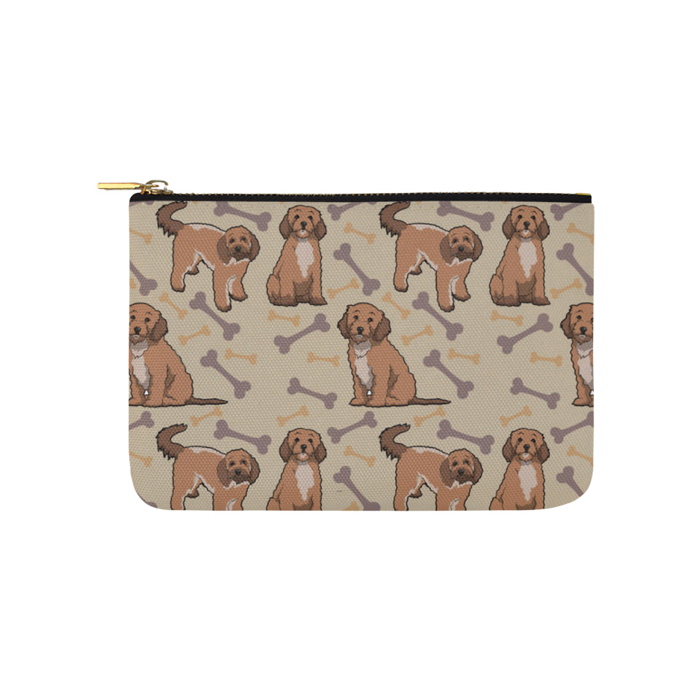 Cockapoo Carry-All Pouch 9.5x6 - TeeAmazing