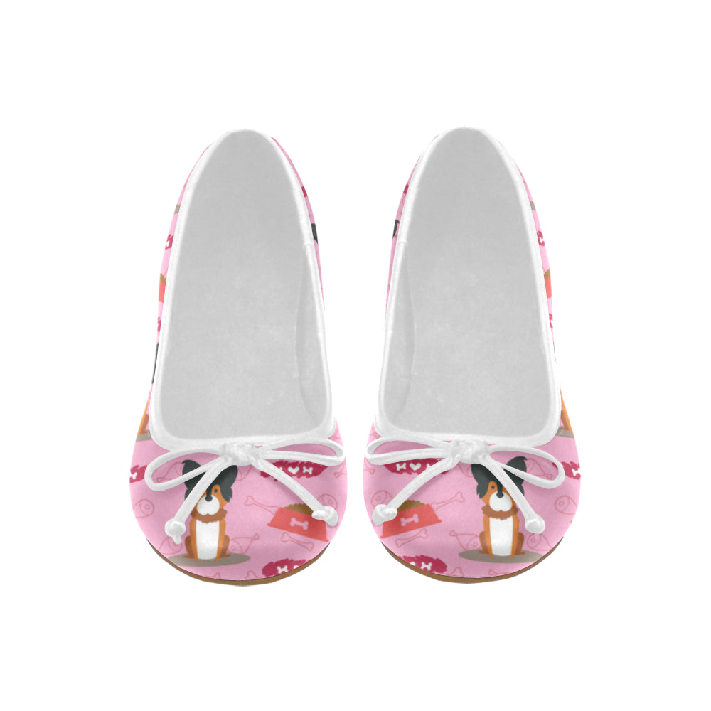 Papillon Pattern Juno Ballet Pumps - TeeAmazing