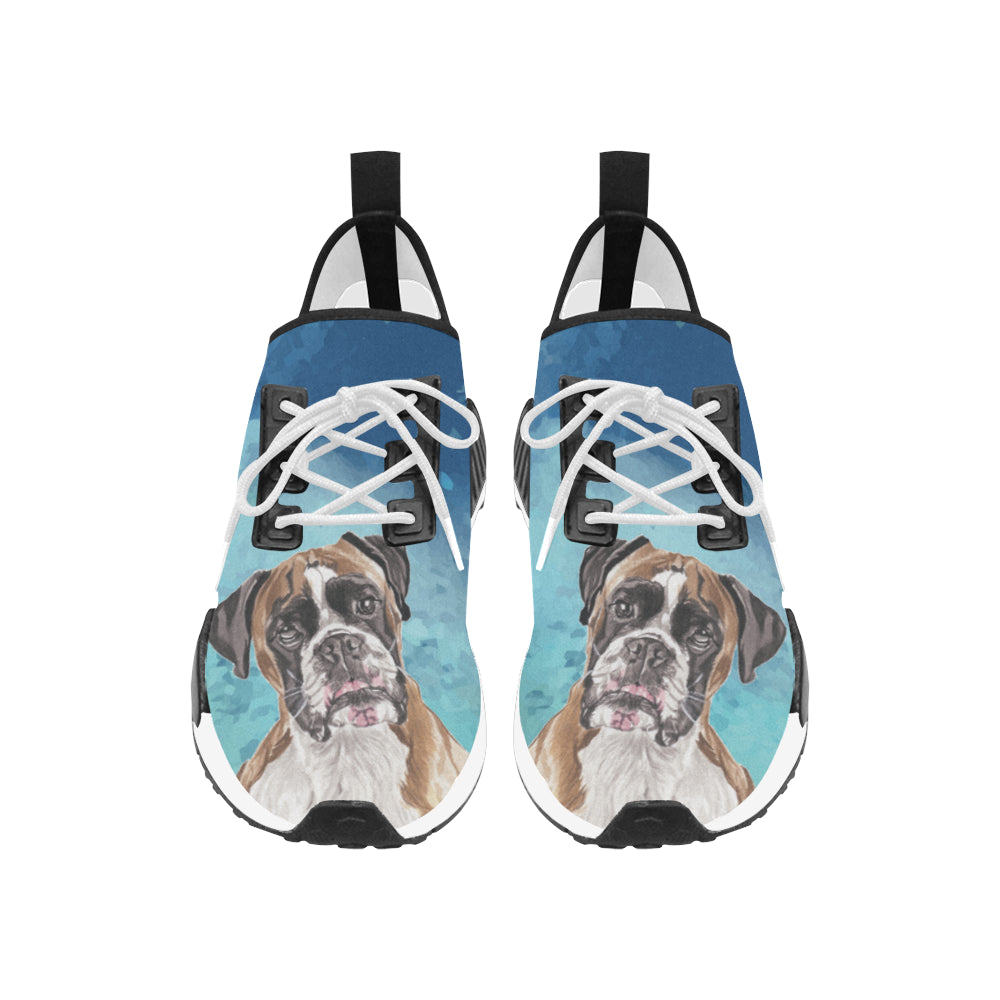 Boxer Water Colour Women's Draco Running Shoes - TeeAmazing