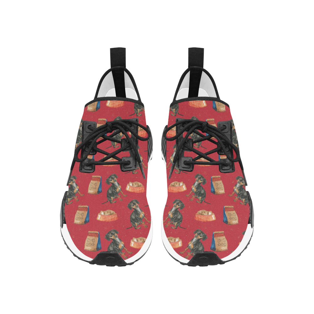Dachshund Water Colour Pattern No.2 Men's Draco Running Shoes - TeeAmazing