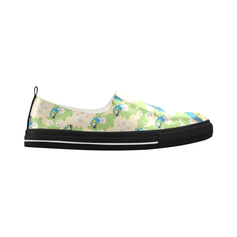 Macaws Apus Slip-on Microfiber Women's Shoes - TeeAmazing