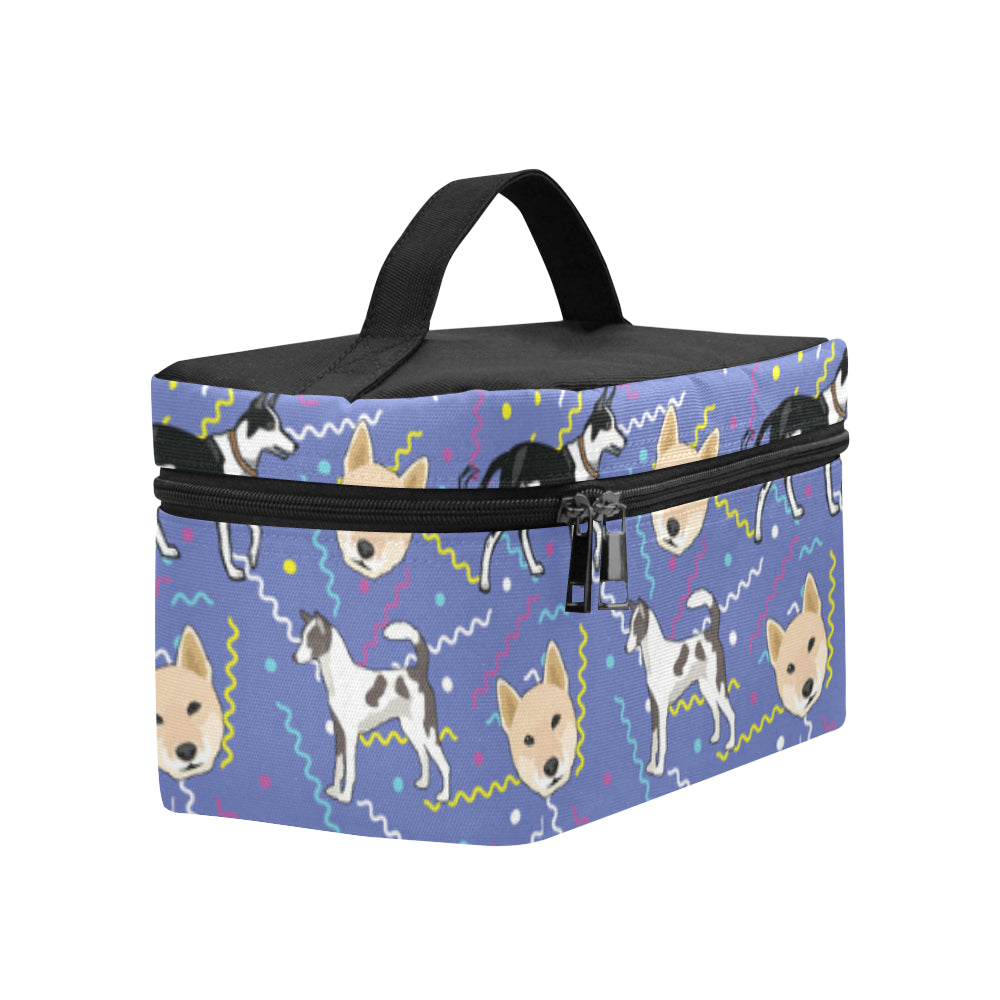 Canaan Dog Cosmetic Bag/Large - TeeAmazing