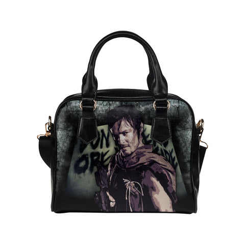 Daryl Dixon (Don't Open - Dead Inside) Purse & Handbags - The Walking Dead Bags - TeeAmazing