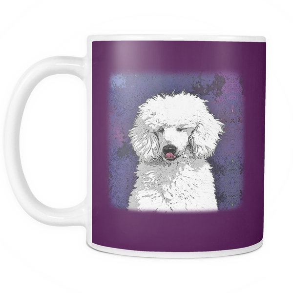Painting Poodle Dog Mugs & Coffee Cups - Poodle Coffee Mugs - TeeAmazing - 6