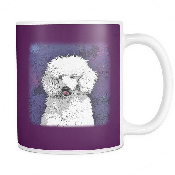 Painting Poodle Dog Mugs & Coffee Cups - Poodle Coffee Mugs - TeeAmazing - 5