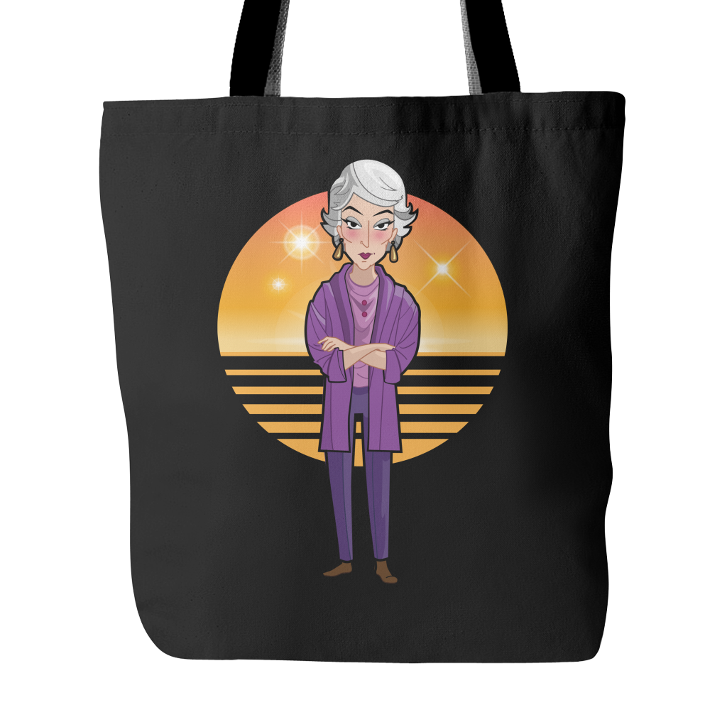 D. Stay Golden Tote Bags - TeeAmazing