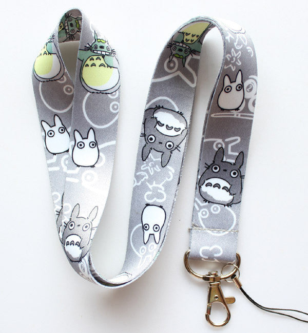 My Neighbor Totoro Neck Strap Cell Phone ID Card Key Lanyard - TeeAmazing