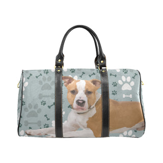 American Staffordshire Terrier New Waterproof Travel Bag/Small - TeeAmazing