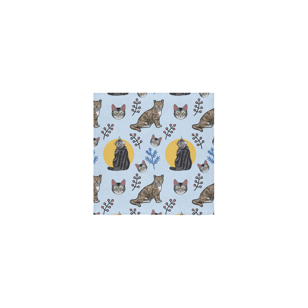 American Shorthair Square Towel 13x13 - TeeAmazing