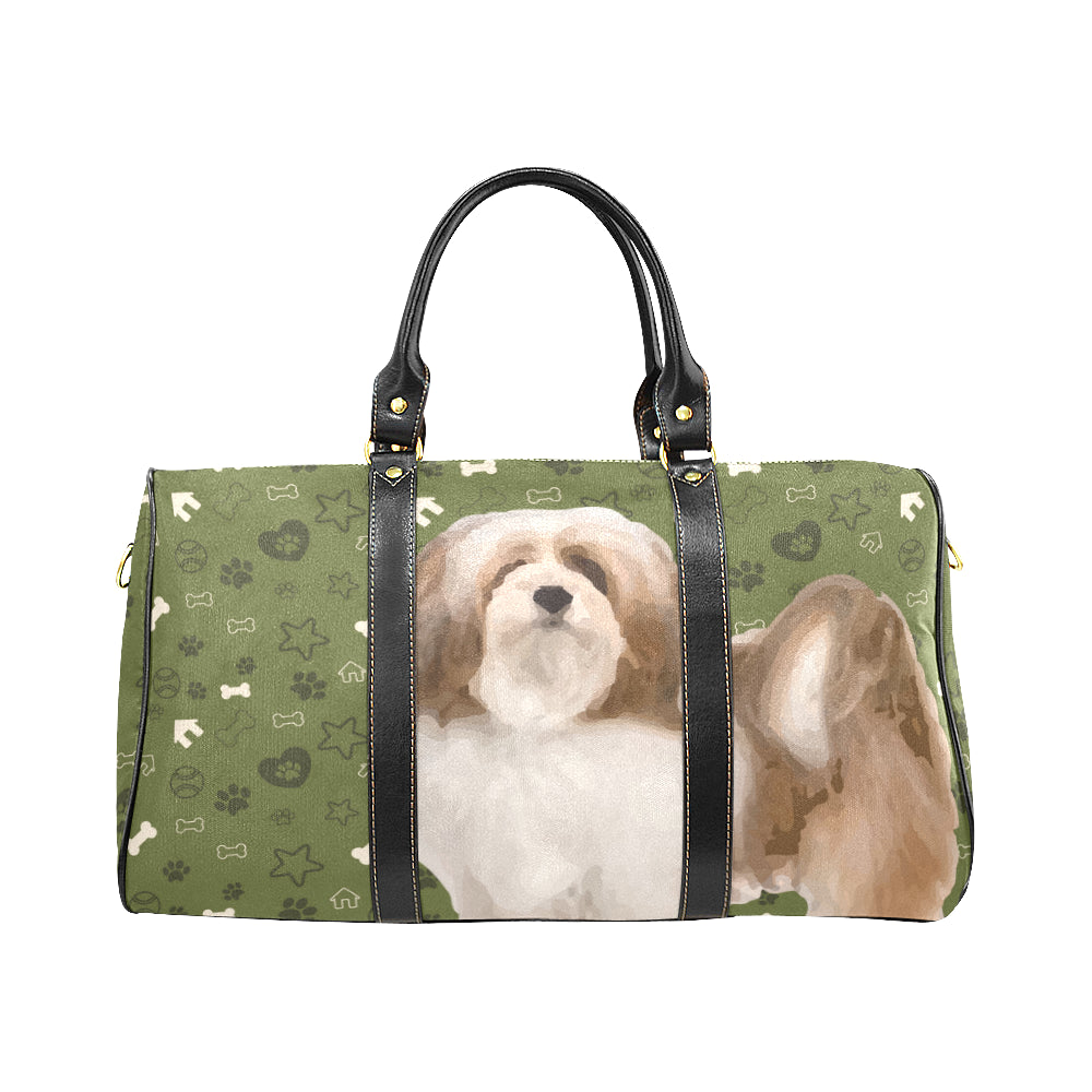 Lhasa Apso Dog New Waterproof Travel Bag/Large - TeeAmazing