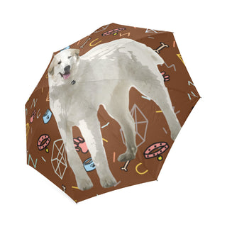 Great Pyrenees Dog Foldable Umbrella - TeeAmazing
