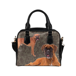 Boxer Lover Shoulder Handbag - TeeAmazing