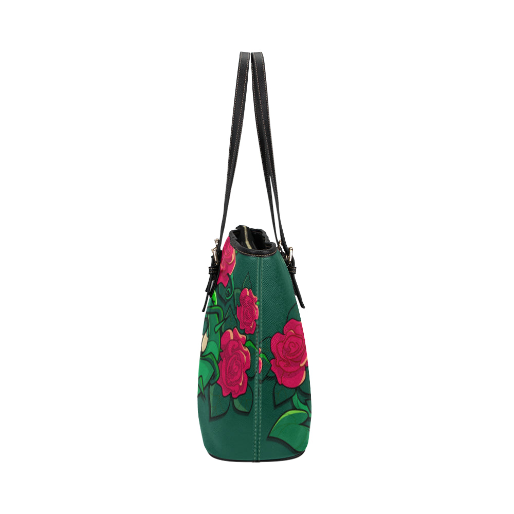 Poison Ivy Leather Tote Bags - Poison Ivy Bags - TeeAmazing