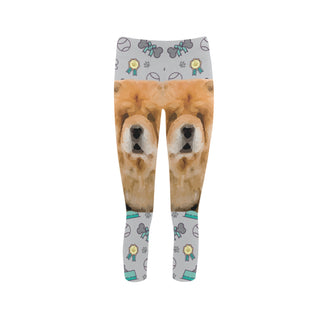 Chow Chow Dog Capri Legging (Model L02) - TeeAmazing