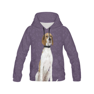 English Pointer Dog All Over Print Hoodie for Men - TeeAmazing