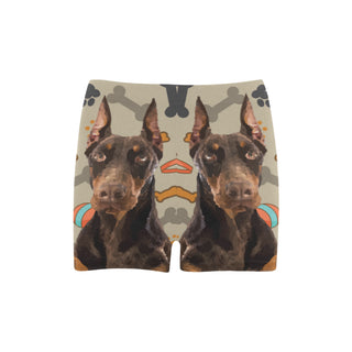 Doberman Dog Briseis Skinny Shorts (Model L04) - TeeAmazing