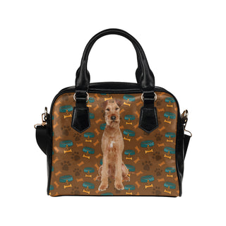 Irish Terrier Dog Shoulder Handbag - TeeAmazing