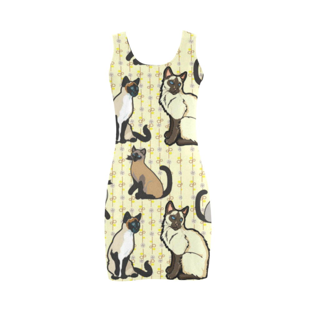 Siamese Medea Vest Dress - TeeAmazing